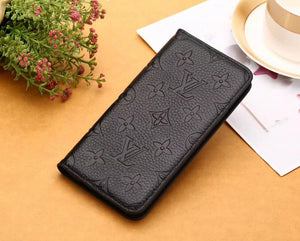 Genuine Leather wallet case for iPhone 11 Pro Max/ Xs Max/XR/6s Plus/7 plus/8 plus (Need You Select Size) K8L9E3