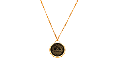 HMD Emblem Double Sided Pendant