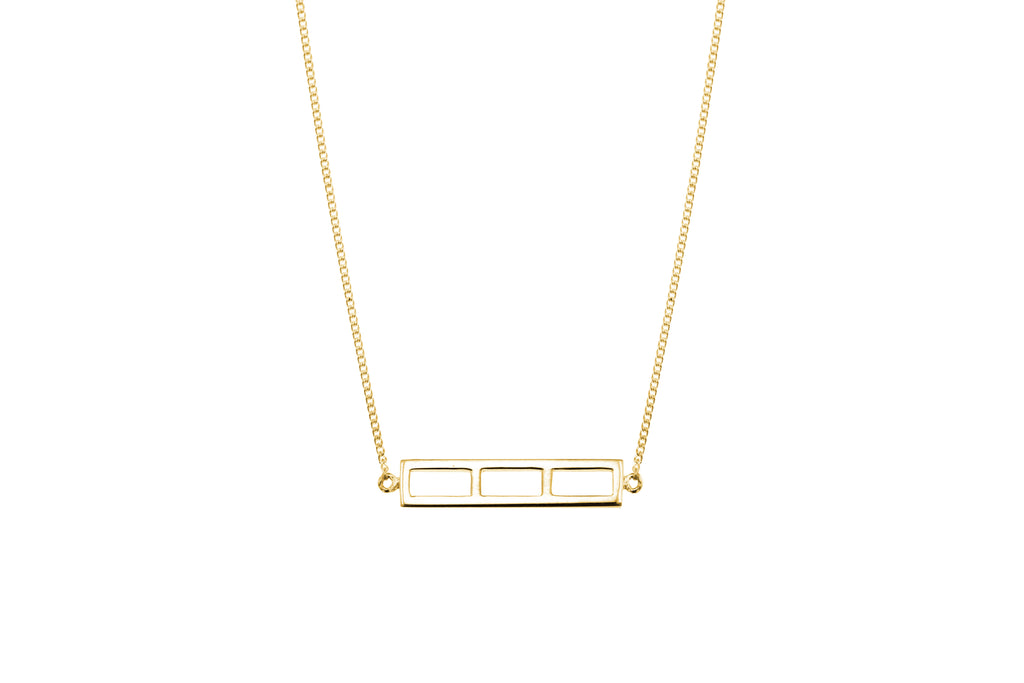 Spatial Bar Necklace