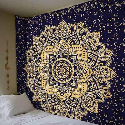 Original Gold Print Tapestry - Sports Illustrated Yoga
