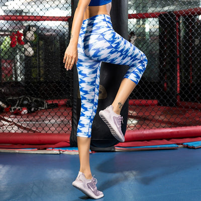 Printed Tights Sportswear Woman Gym Yoga Pants With Pocket Sport Seamless Leggings Fitness Compression  Slim Running Clothes - Sports Illustrated Yoga