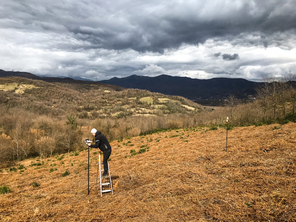 Weather stations at Rioni Estate