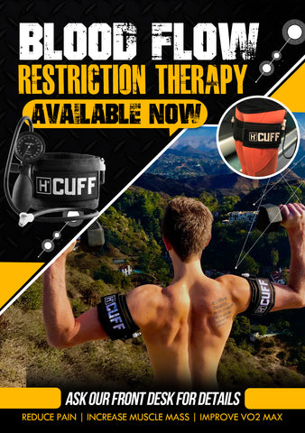 Blood Flow Restriction Marketing