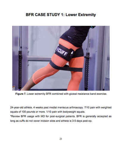 Blood Flow Restriction Exercises