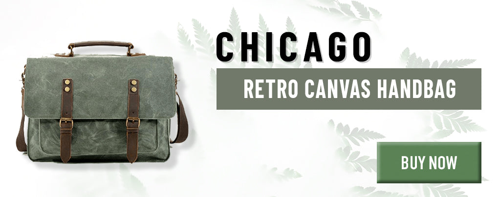 Retro Canvas Handbag
