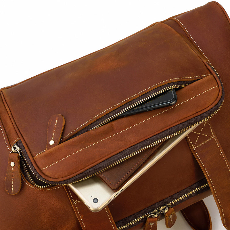 Men's Leather Holdall