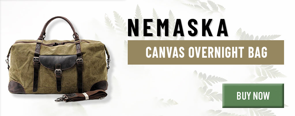 Canvas Overnight Bag