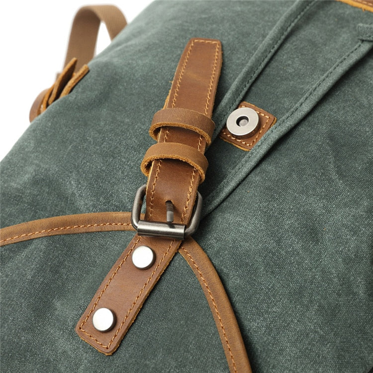 Woman Canvas Backpack