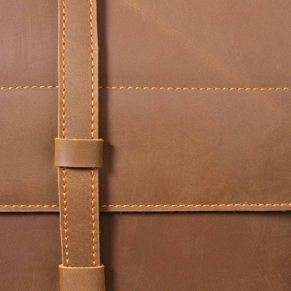 women's tan leather backpack leather straps