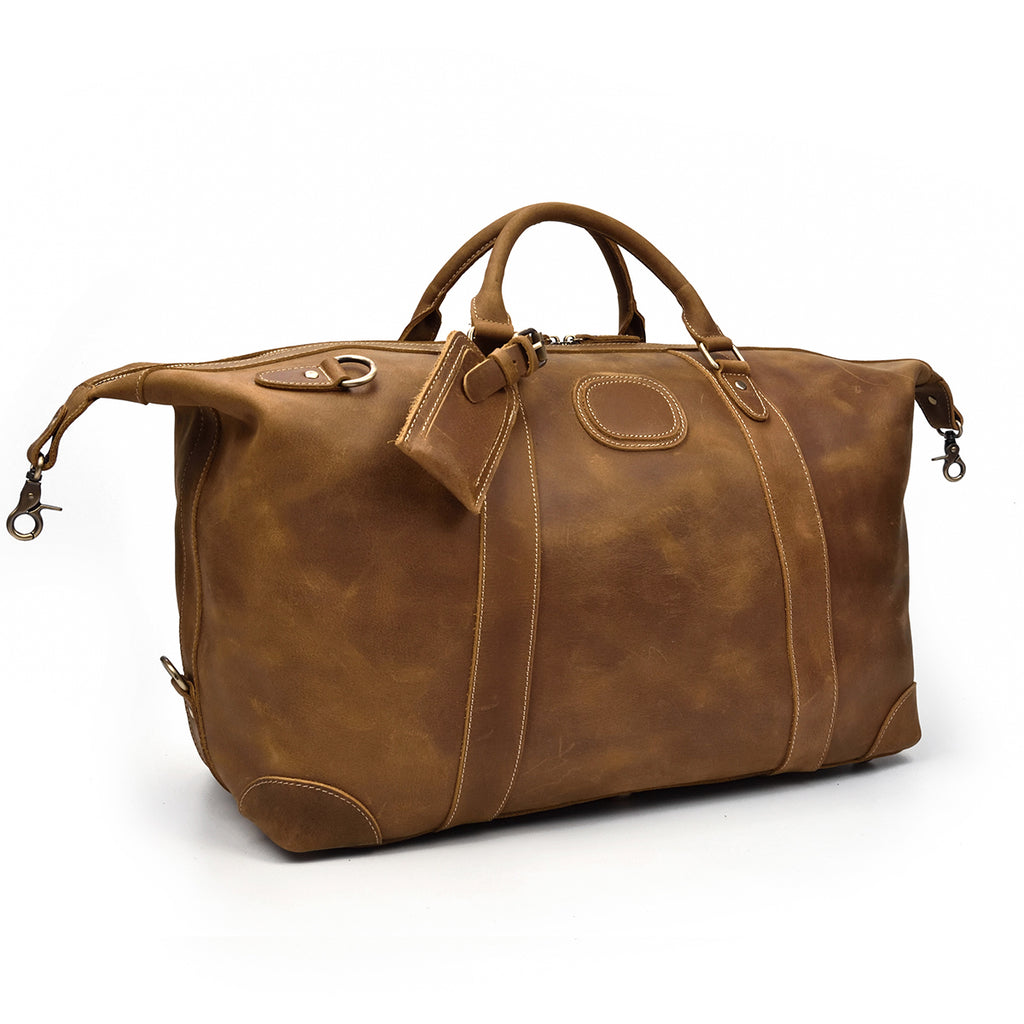 best leather holdall bags