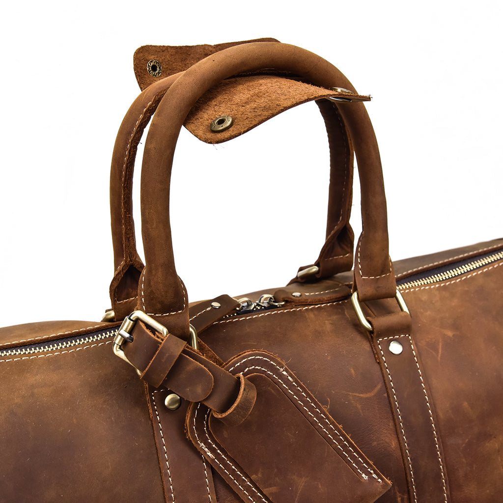 best leather holdall