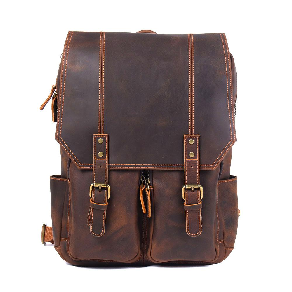 Are leather backpack