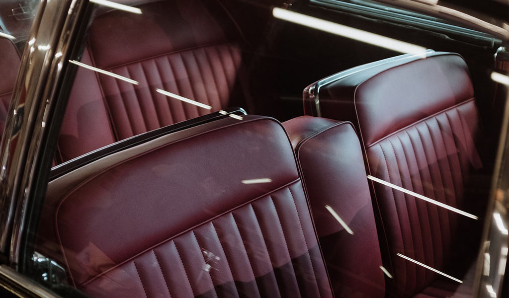 clean leather car seats