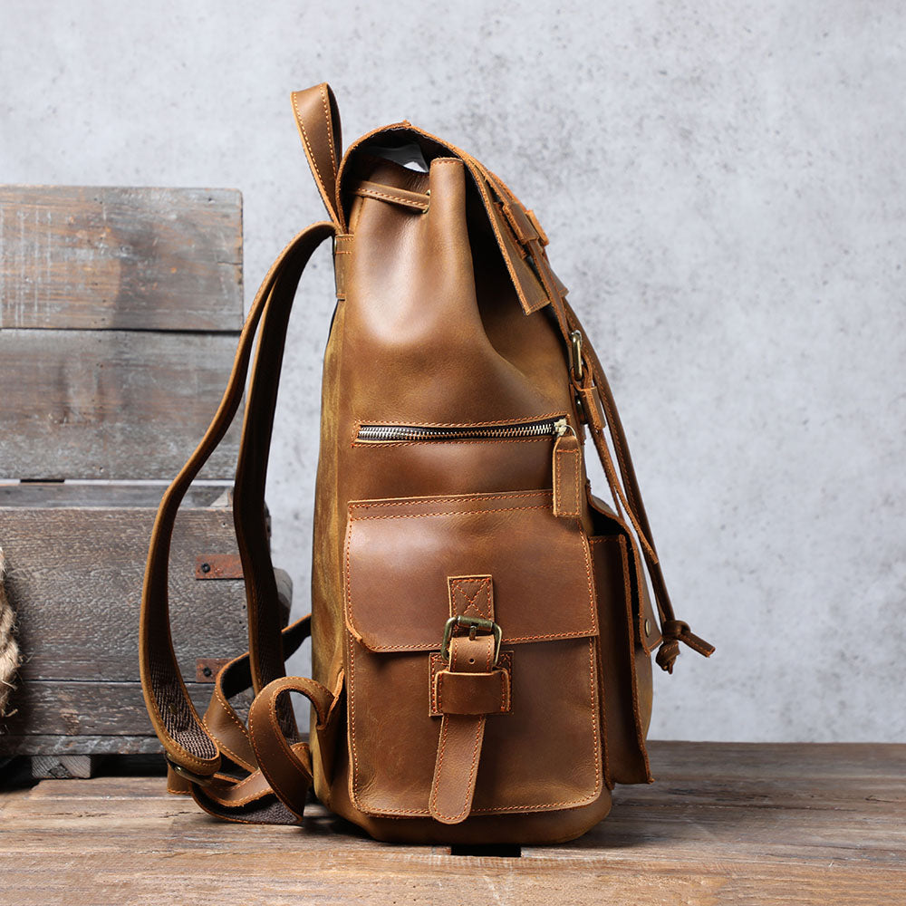 coffee leather pack