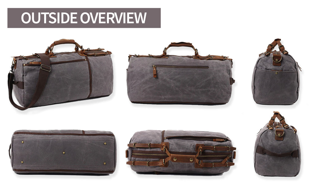 outside overview kaori sports duffle bags