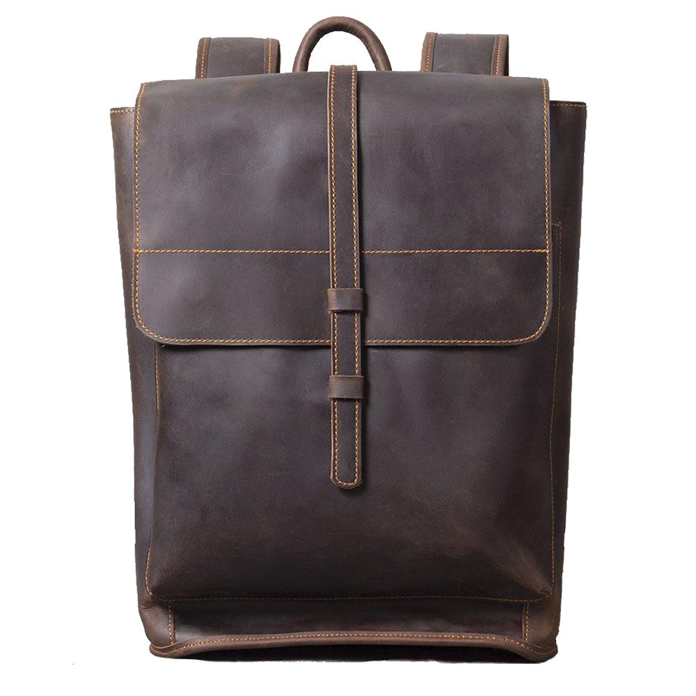 lyve women's leather backpack
