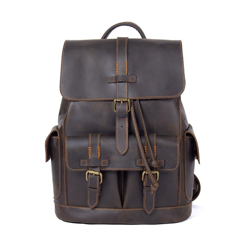 aryn leather backpack