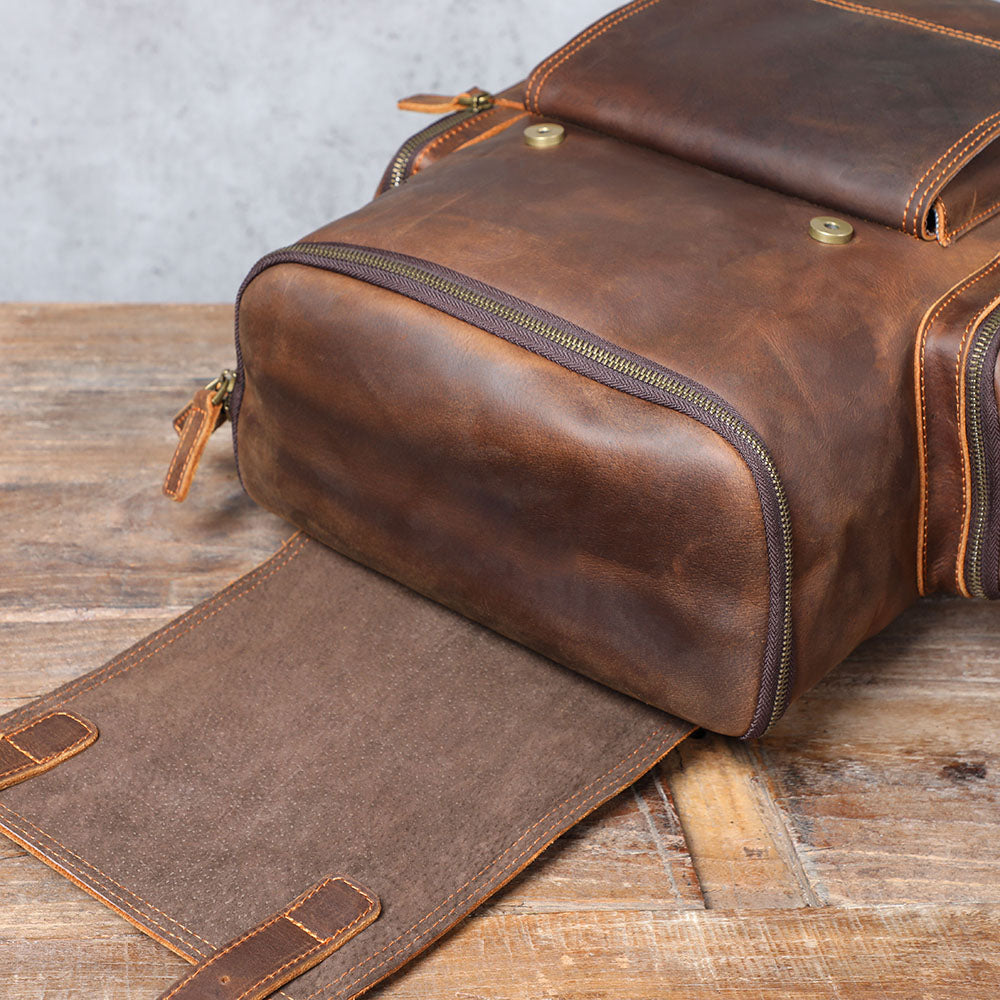 leather laptop bag leather flap