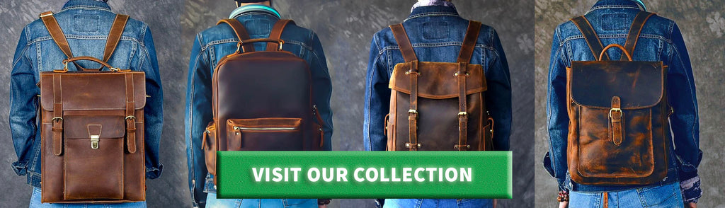 premium luxury leather backpacks and rucksacks