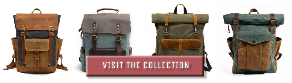 eiken canvas backpack and rucksack collection