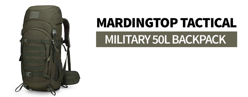mardingtop tactical military backpack