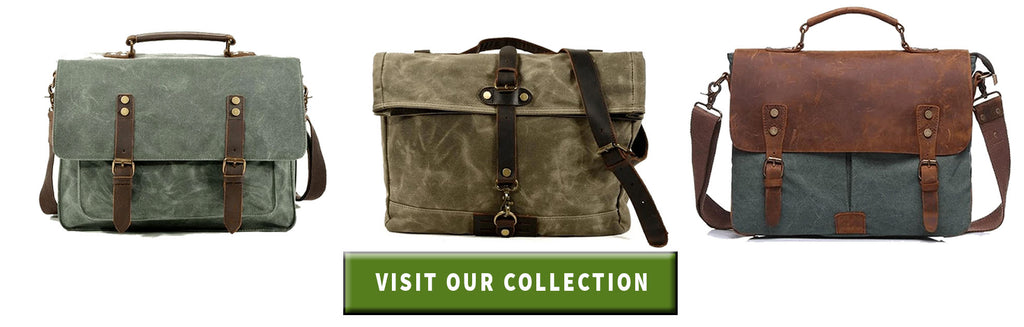 collection of eiken canvas messenger bag