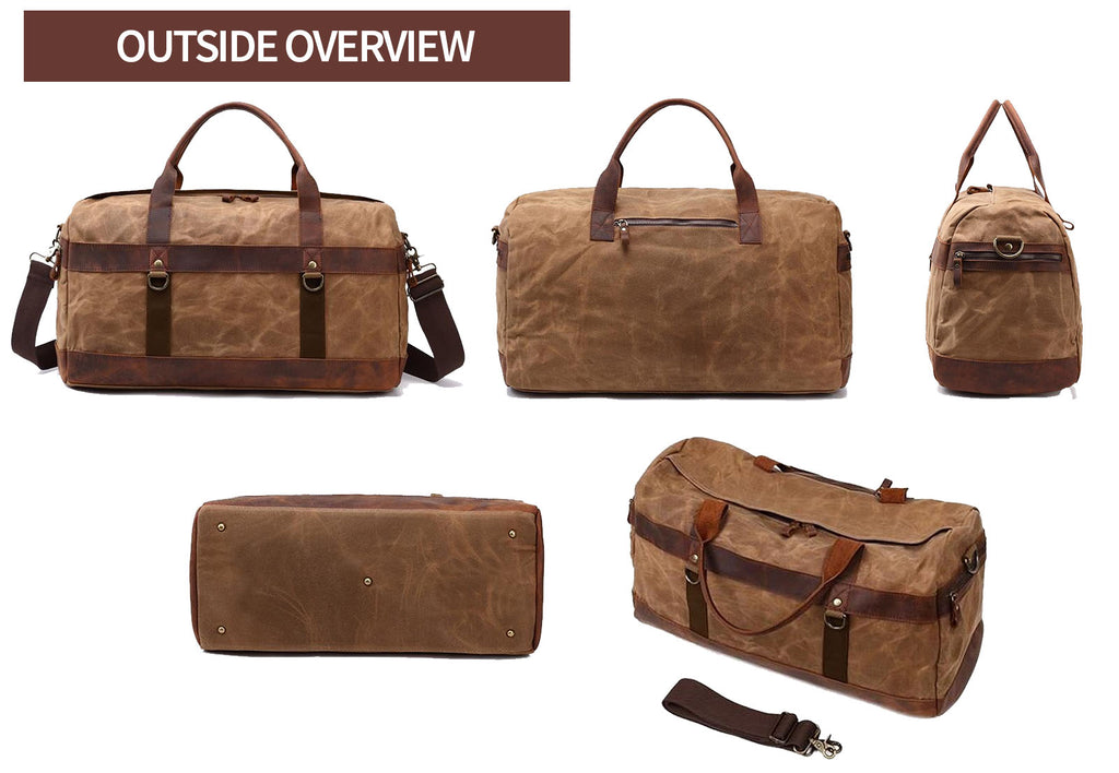 oaxaka outside overview travel duffle bag
