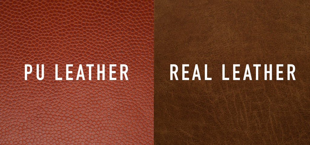 difference between real leather and pu leather