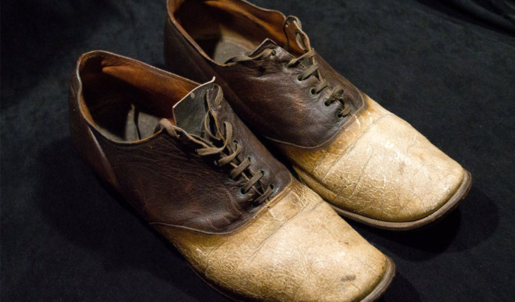 shoes made of Big Nose George