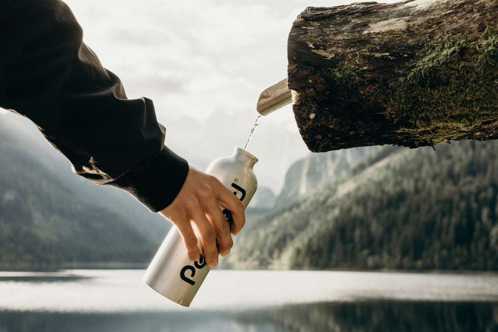 water bottle camping guide