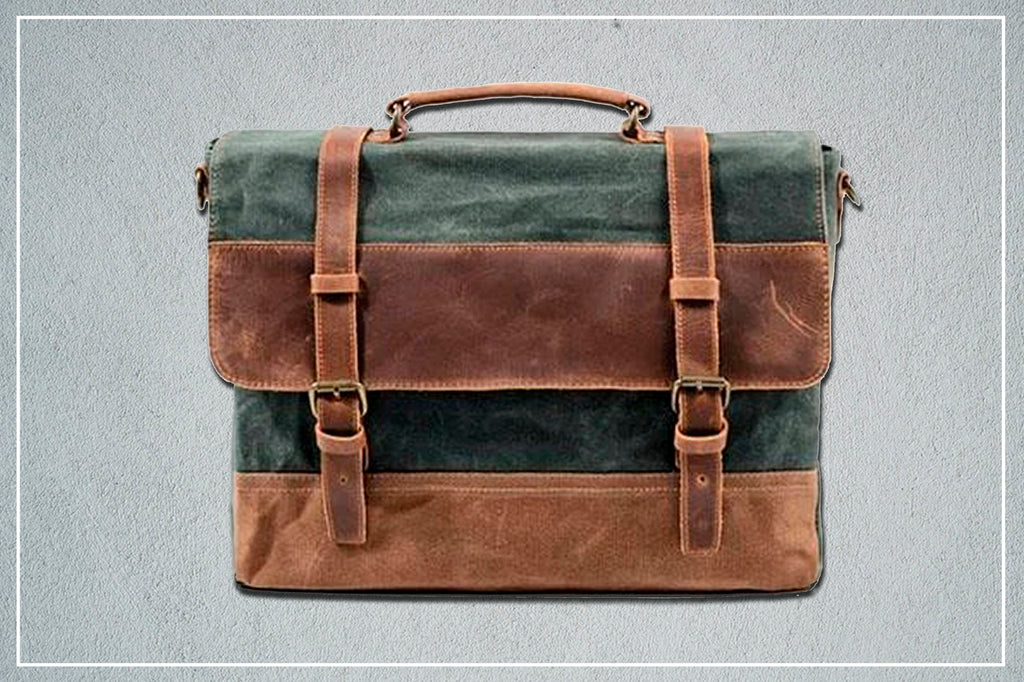 winnnipeg canvas messenger bag