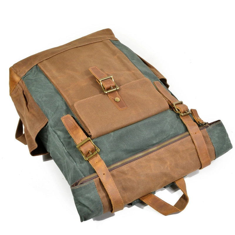 canvas backpack for men
