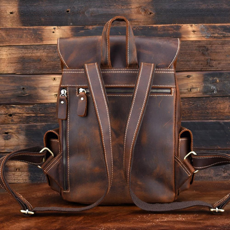 Womens Leather Backpack
