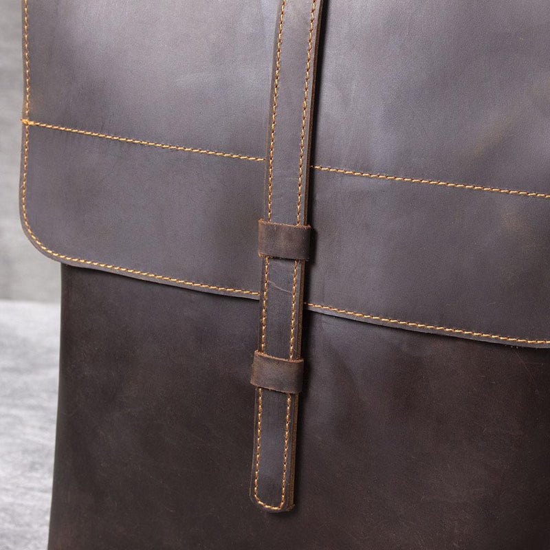 backpack leather bag for women