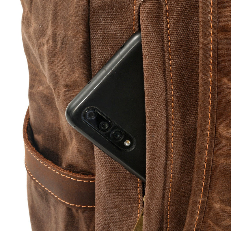 backpack smartphone pocket