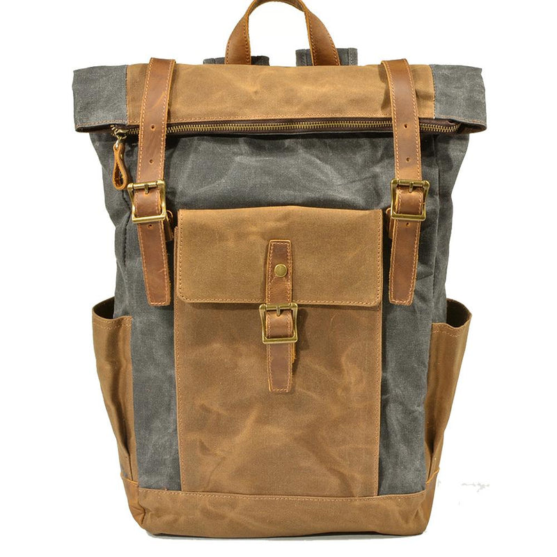 basic canvas backpack