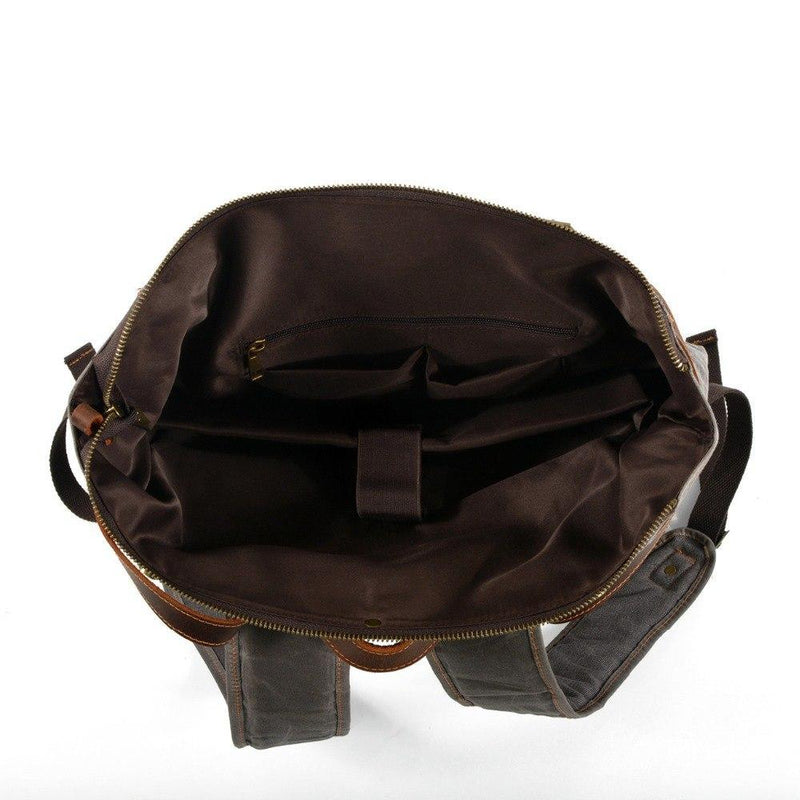 hipster canvas backpack