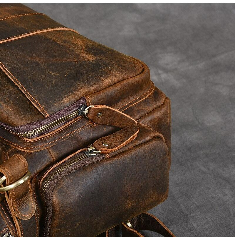 leather backpack uk