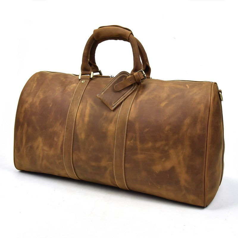 brown leather holdall sale