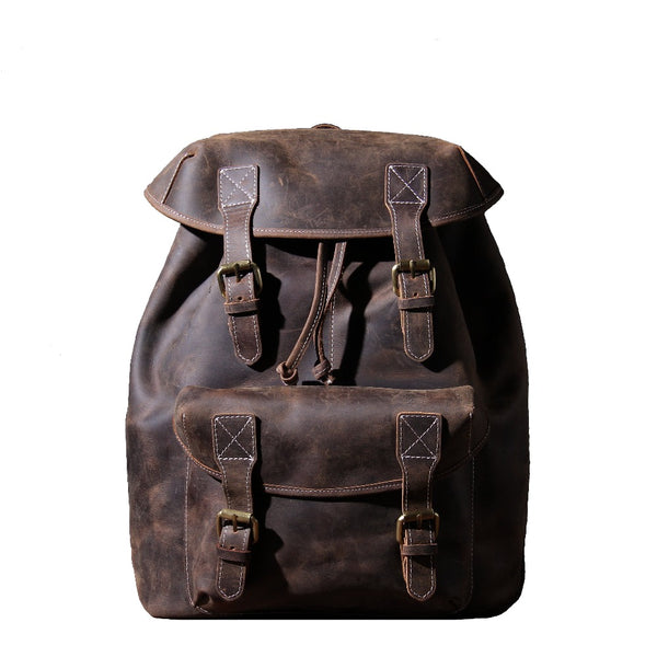 Leather Knapsack <br> KALINKA