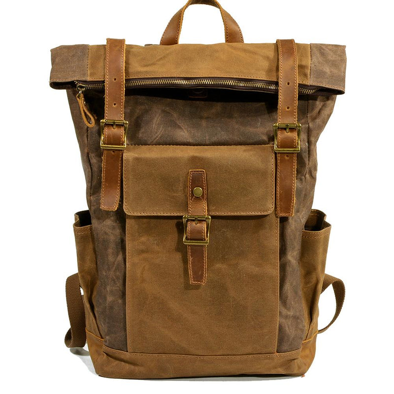 canvas daypack backpack