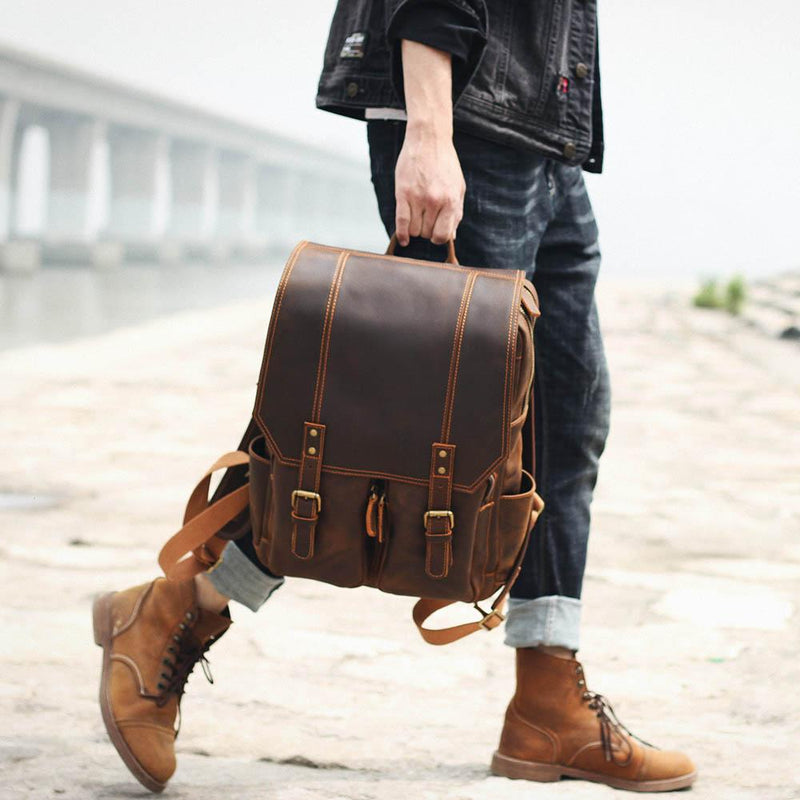 leather backpack uk ladies