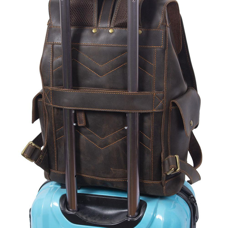 leather bag luggage