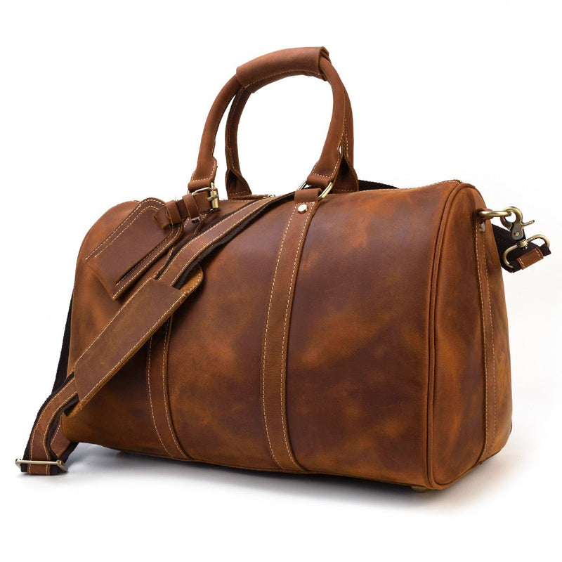 leather duffle bag for ladies