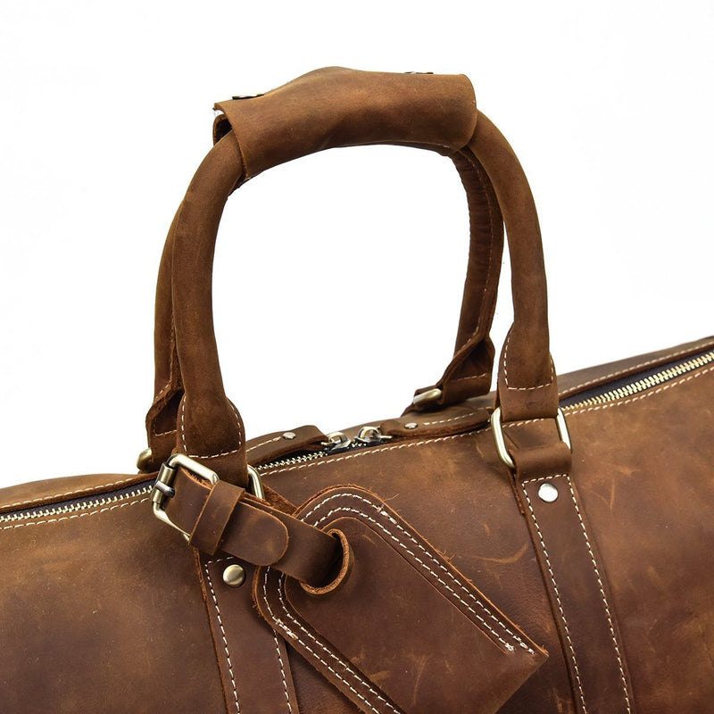 leather holdall strap