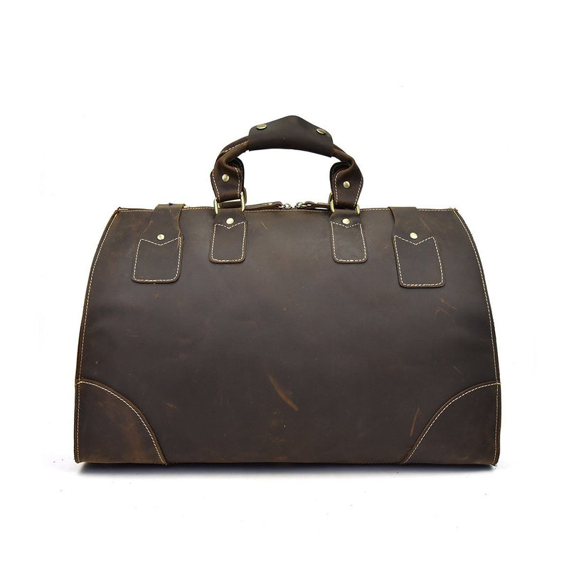 leather travel bag womens