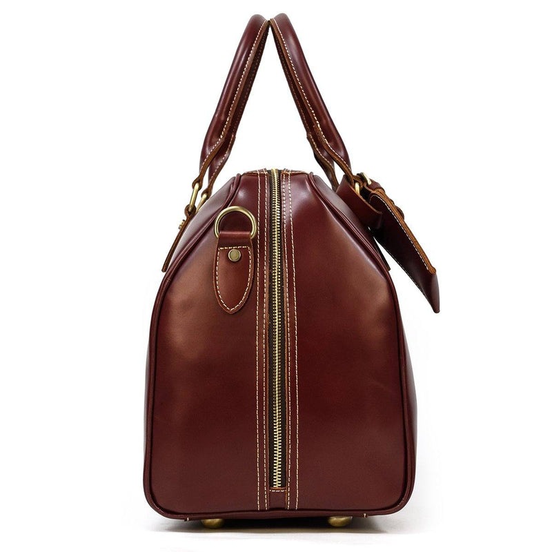 leather weekend bag womens uk