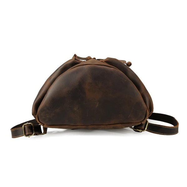 mini leather backpack