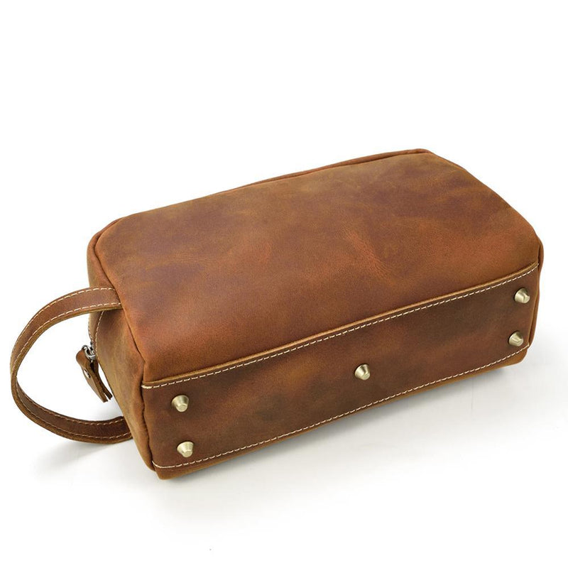 Leather Toiletry Bag<br /> PETRA
