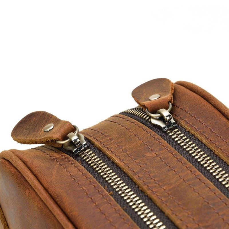 Leather Wash Bag <br /> JAKARTA